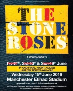 Stone Roses live