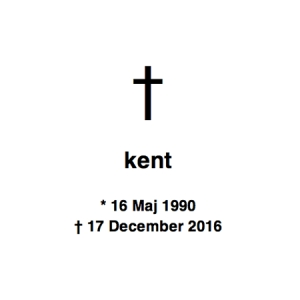 Kent over